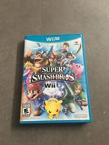 Super Smash Bros Wii U with manual