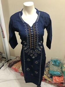 Indian pakistani ladies clothing kurta tunic rion cotton buy now