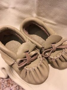 Authentic leather Moccasins