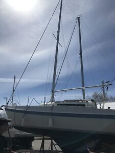 26 foot tanzer beautiful sail boat