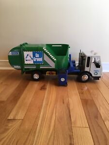 Camion poubelle - recyclage