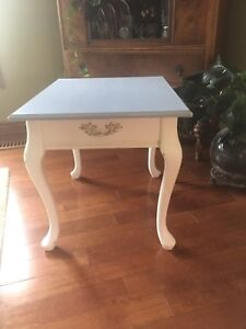 Beautiful newly Chalk Painted side table