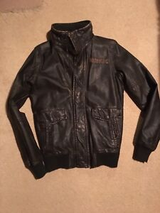 HOLLISTER Faux Leather Jacket $35 New men's small
