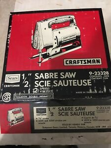 "Craftsman 1/2"" Jig Saw"