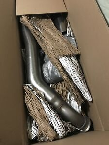 """5"""" MBRP turbo back exhaust stainless  2010-12 Cummins"""