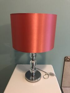 Coral/Pink Lamp from Bouclair