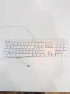 Apply Mac Wired Keyboards w/ Numeric Pad