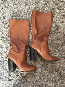 Aldo leather boots size 6