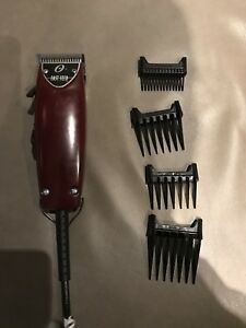 Barber Tools (Only Used Once)