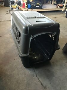 Large travel dog crate