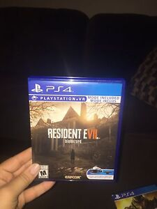 Resident evil 7 Biohazard PS4 game