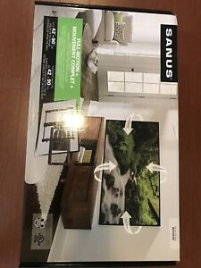 "SANUS Full-Motion Tv Mount 42""-90"" brand new"