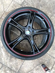 """BMW 20"""" Rims and tires (genuine)"""