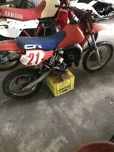 1986 Honda cr 80