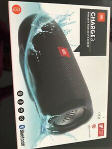 JBL charge 3 portable Bluetooth speaker brand new