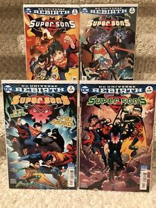 DC Comics Supersons Rebirth (First story arc)  #1-4