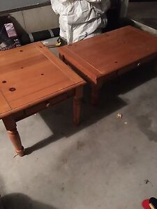 Coffee and end table set for sale!
