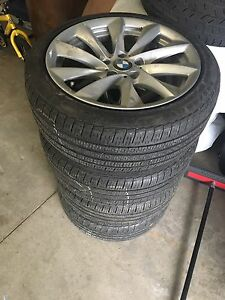 BMW rims and tires 225/45/18