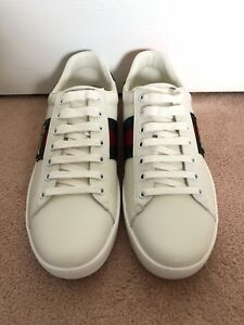 Gucci Ace Leather Sneaker Tiger