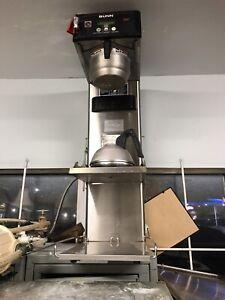 Machine à café bunn pour restaurants avec eau chaude