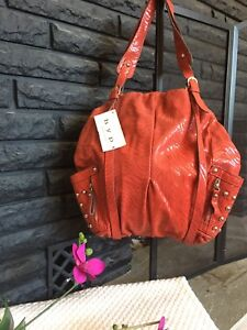 New Red Bag, genuine leather