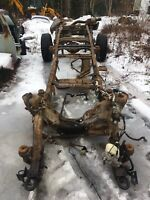 2008-2010 Ford F-250 f350 frame and rear end