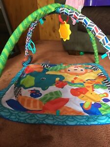 Bright Stars Jungle-Themed Play Mat