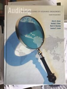 Auditing the art and science of assurance engagement 13th ed