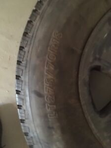 275/70/18 tire and rim brand new