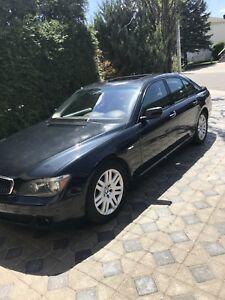 BMW 750i 2006 - À VENDRE - $9,000 négociable
