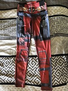 Dead pool leggings - new never worn !