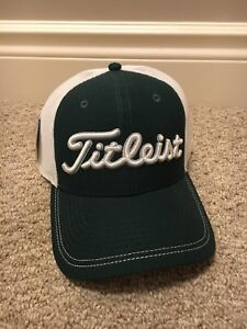 Rare New w Tags Titleist Mesh Fitted Hat. M/lL