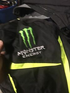 Monster energy motorcycle jacket