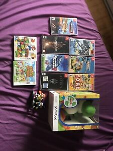 Switch, amiibo rare , 3ds vente/ echange