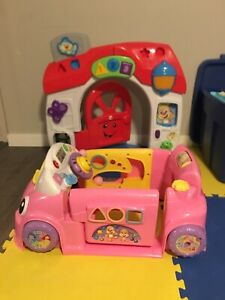 Fisher Price Door & Car