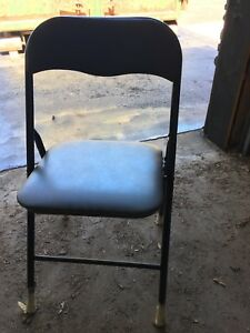 Folding chairs - black