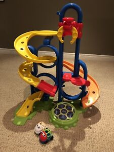 Oball play set bounce and zoom speedway