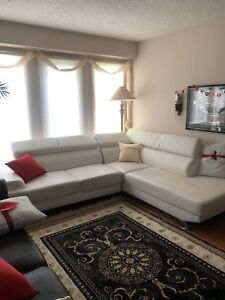 White Sectional Sofa! Great price!
