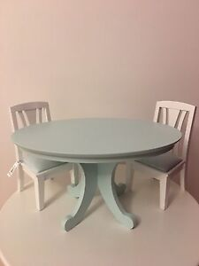 American Girl Doll Dining Table & Chairs!