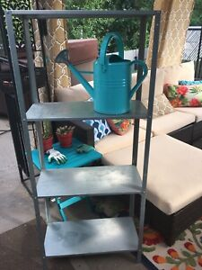 IKEA Galvanized Metal Shelf