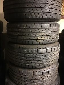 Set of 4 205/55R16 Michelin Defender All Season Tires