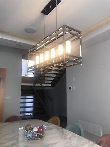 Contemporary modern design lighting fixture
