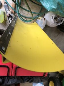 "44"" unused John Deere snow plow for lawn mower"