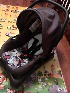 Cosco Juvenile Light'N Comfy Elephant Puzzle Infant Car Seat