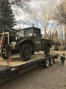1955 M37 3/4 ton dodge army truck