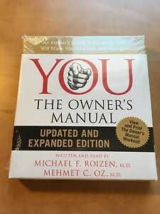 YOU The Owners Manual (Dr. Oz) Audio-book