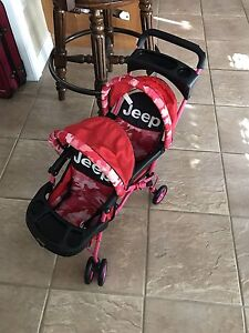 Doll double Jeep Stroller