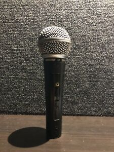Shure SM58S Cardioid Dynamic Mic with ON/OFF Switch