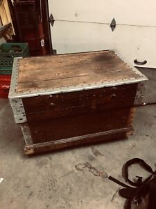 1940's machinist trunk