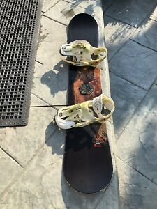 5150 Nomad Snowboard with Burton Bindings 155 cms